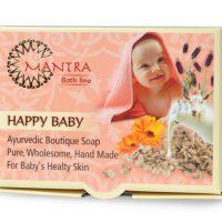 סבון טבעי על בסיס חלב עיזים HAPPY BABY