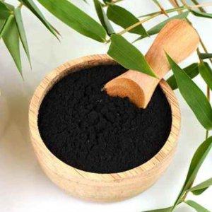 פחם פעיל מבמבוק - אבקת פחם פעיל