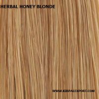 חינה - צבע טבעי לשיער בלונד דבש - Honey Blonde