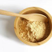 אבקת טאנאקה - Thanaka powder, להלבנת העור ונגד קמטים והסרת שיער