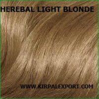 חינה - צבע טבעי לשיער לייט בלונד - Light Blonde
