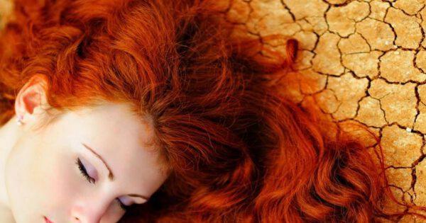 צבע שיער כתום - חינה טבעית לשיער