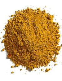 אבקת פיגמנט טבעית - צהוב אוקר