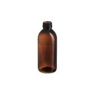 בקבוק פלסטיק 250 מ״ל 28 פיה כולל פקק